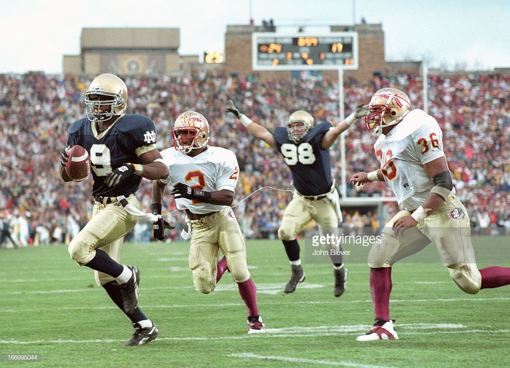 Fsu S 1993 National Title Team S Silver Anniversary Part Vii The Game Of The Century The Daily Nole